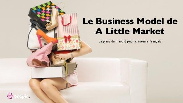 La place de marché pour créateurs Français Le Business Model de A Little Market