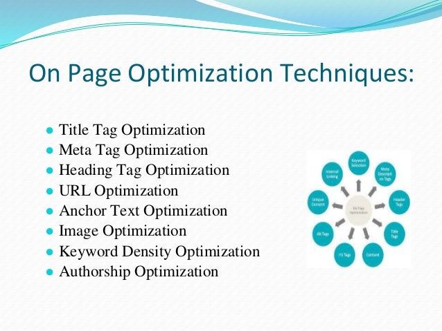 Title Tag Optimization Title should be meaningful and its size should be a maximum of 512 pixels i.e. about 55-60 characte...