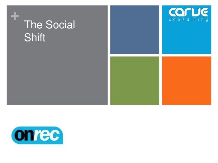 +    The Social    Shift