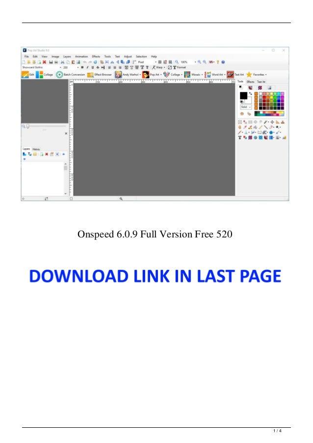 Onspeed 6.0.9 Full Version Free 520 1 / 4