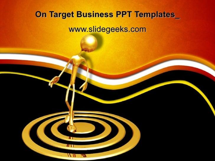 On Target Business PPT Templates_ www.slidegeeks.com