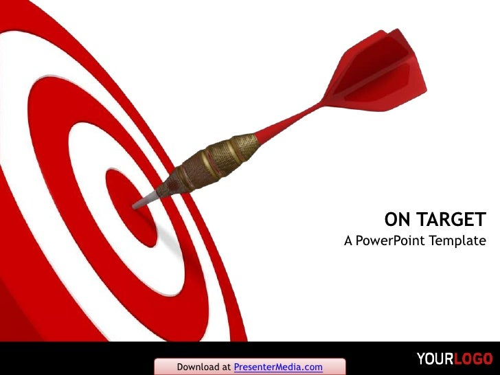 ON TARGET<br />A PowerPoint Template<br />