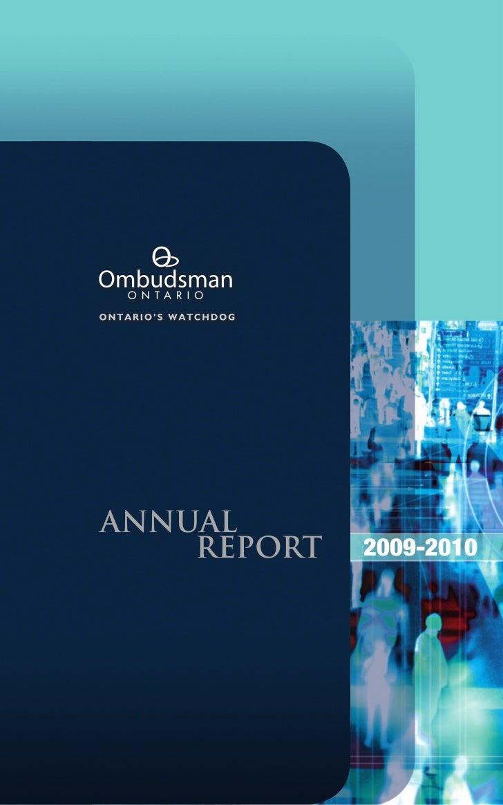 Ontario ombudsman annualreport0910-en-web