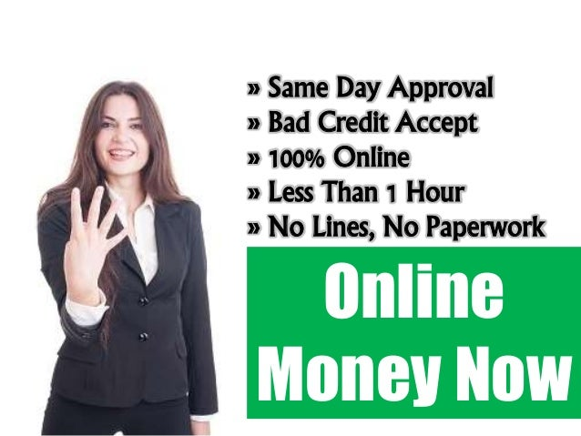 Payday Loans Bad Credit Same Day
