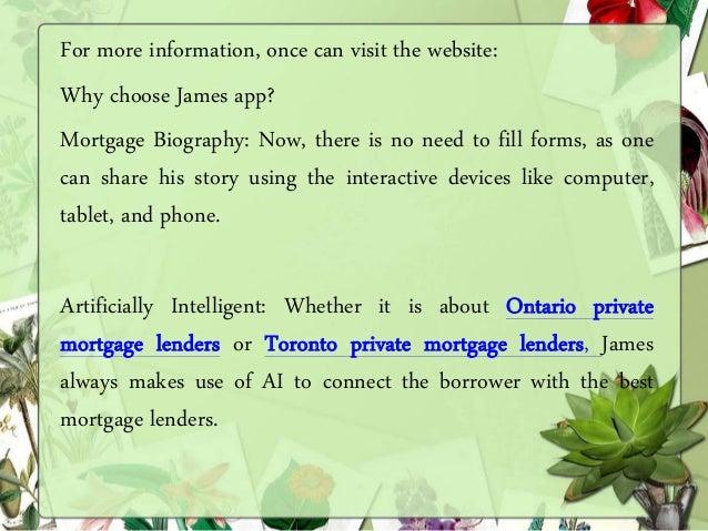Ontario & toronto private mortgage lenders Slide 2