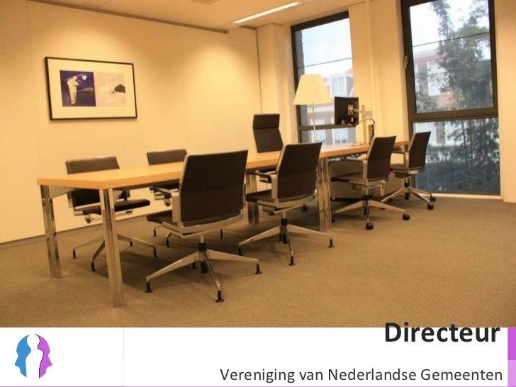 Directeur  Vereniging van Nederlandse Gemeenten