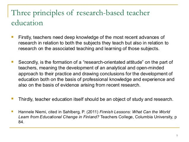 The Importance Of Research In Education