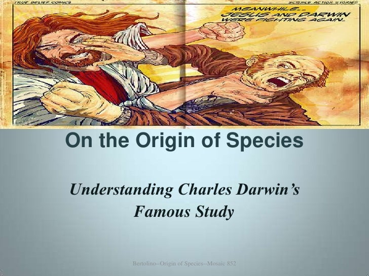 On the Origin of Species Summary