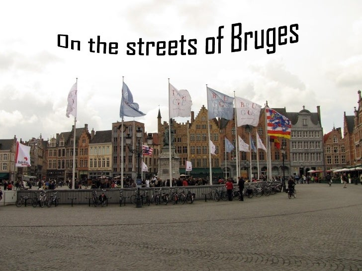 On the streets of Bruges