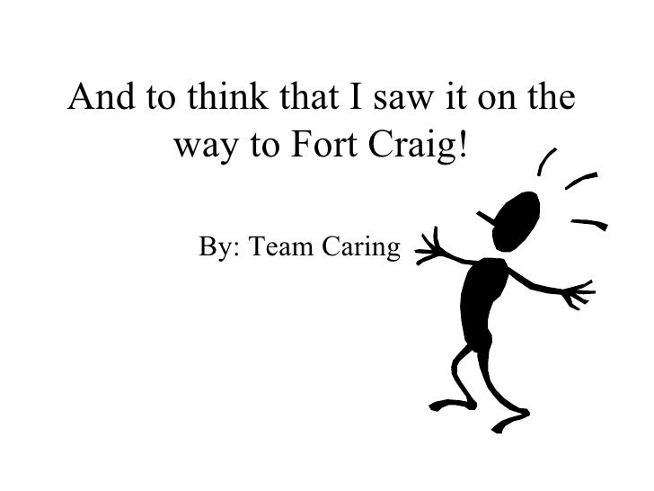 And to think that I saw it on the way to Fort Craig! By: Team Caring