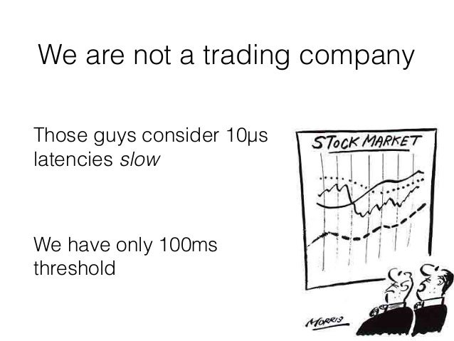 On the way to low latency (2nd edition) Slide 3