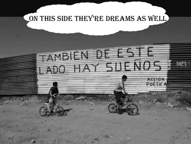 on this side they're dreams as well