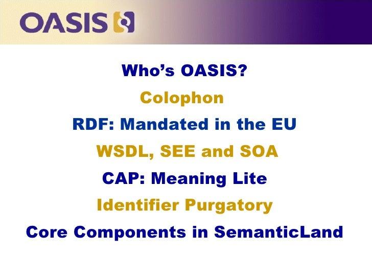 Ontolog Forum: Semantic Interop March 2008 Slide 2