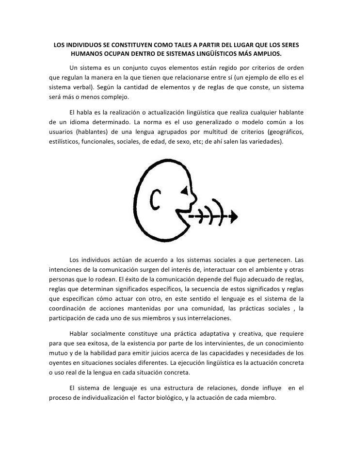 Ontología del lenguaje (resumen)