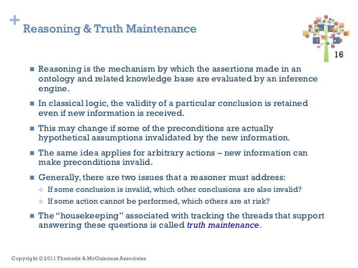 + Reasoning & Truth Maintenance                                                                                         16...
