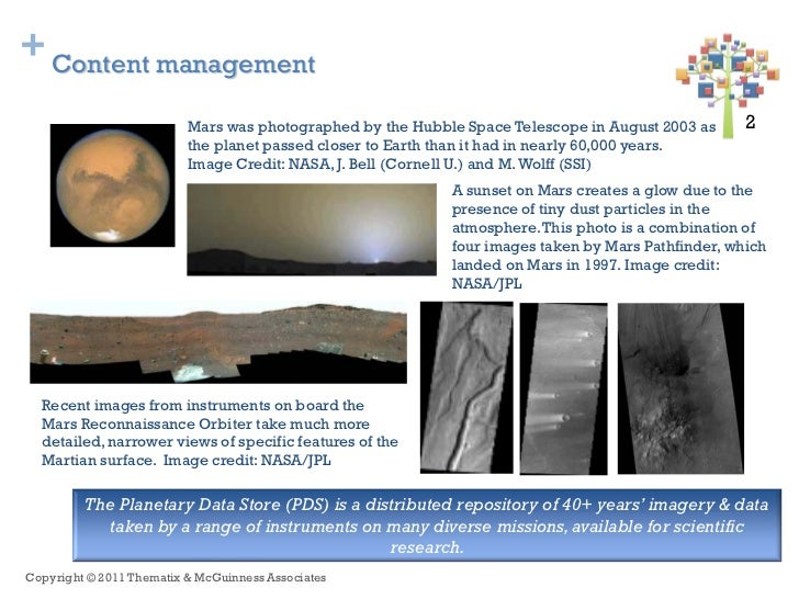 + Content management                          Mars was photographed by the Hubble Space Telescope in August 2003 as     2 ...