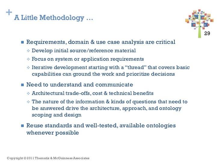 + A Little Methodology …                                                                                   29 29         ...