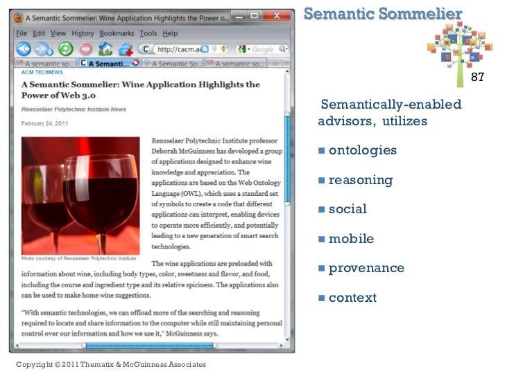 Semantic Sommelier+                                                                            87 87                      ...