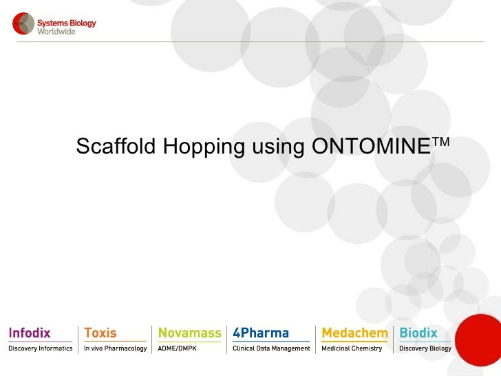 Scaffold Hopping using ONTOMINE TM