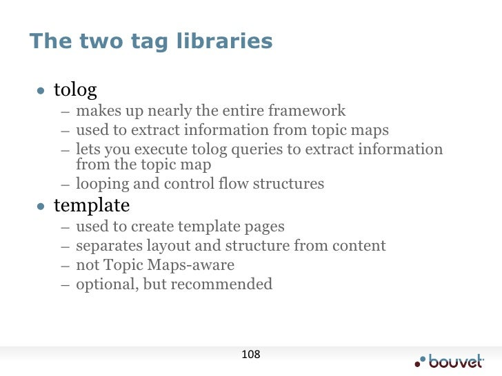 "TM/XML example<br /><topicmap ... reifier=""tmtopic""><br />  <topicmap id=""tmtopic""><br />    <iso:topic-name><tm:value>TM/..."