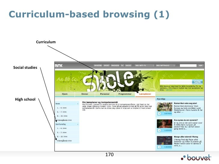 Example user interface<br />The user creates an article<br />this screen then used to add keywords<br />user adjusts the p...