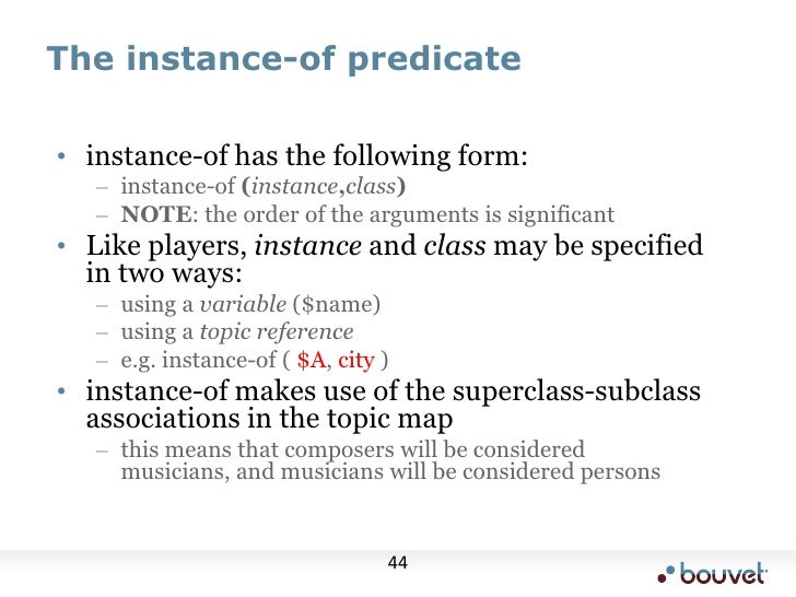 Predicates, however, are in a sense bidirectional, because of the way the pattern matching works