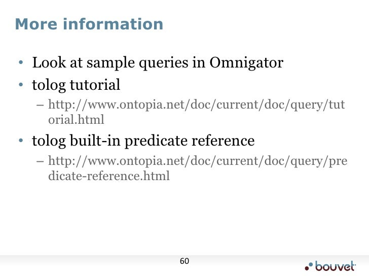 Demo<br />Show running queries in Omnigator<br />Also show query tracing<br />Shakespeare<br />/* #OPTION: optimizer.reord...
