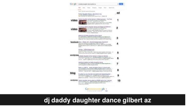 dj daddy daughter dance gilbert az