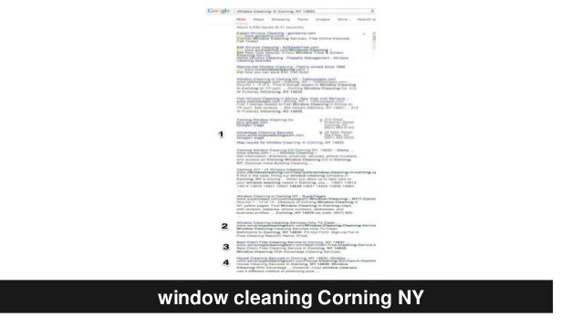 window cleaning Corning NY