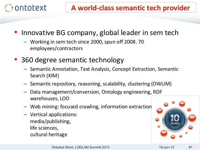 • Innovative BG company, global leader in sem tech– Working in sem tech since 2000, spun off 2008. 70employees/contractors...