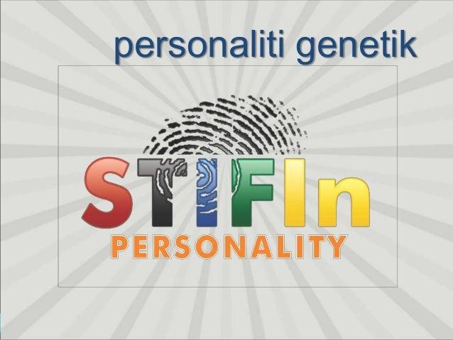 STIFIn menguak jutaan informasi tentang seseorang