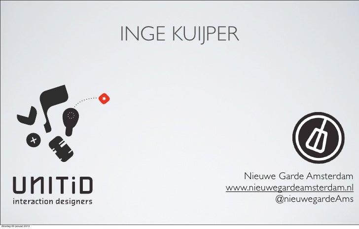 Ontwerpen voor Android Slide 2