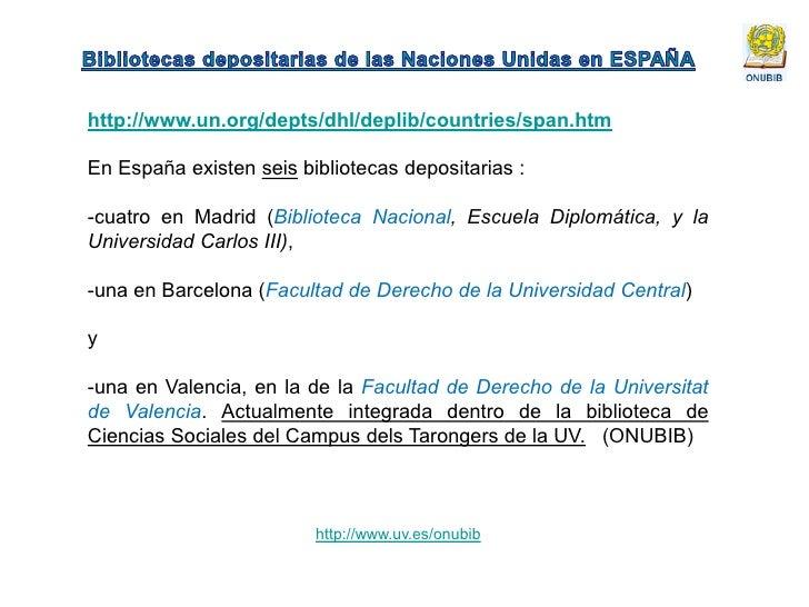 Biblioteca depositaria de las naciones unidas universidad for Oficinas de dhl en madrid