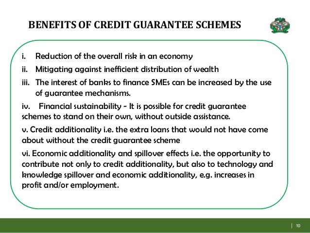 Cgtmse & other loan guarantee schemes.