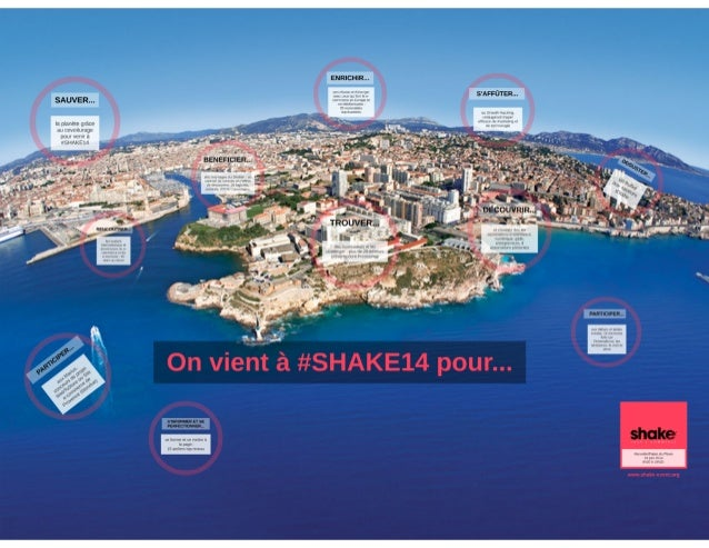 Shake your e-commerce, Marseille capitale du e-commerce, on y vient pour... #SHAKE14