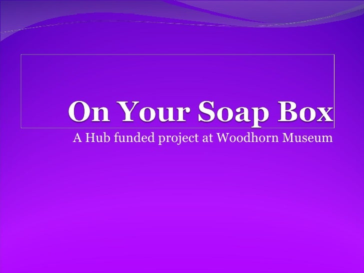A Hub funded project at Woodhorn Museum