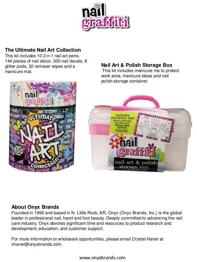 Nail Graffiti Winter 2014 Nail Art Collection- DIY Nail Art