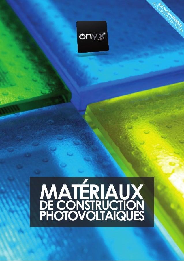 SolPhotovoltaïque Actuellem enten Vente Matériauxde Construction photovoltaïques