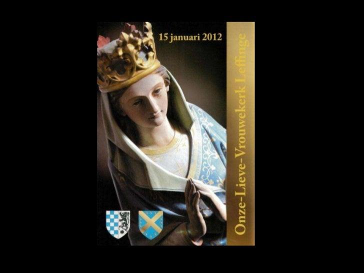 Mgr. Faict, Leffingenaar,20ste Bisschop van Brugge