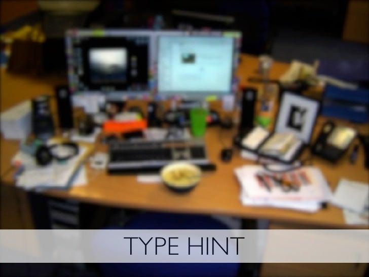 TYPE HINT