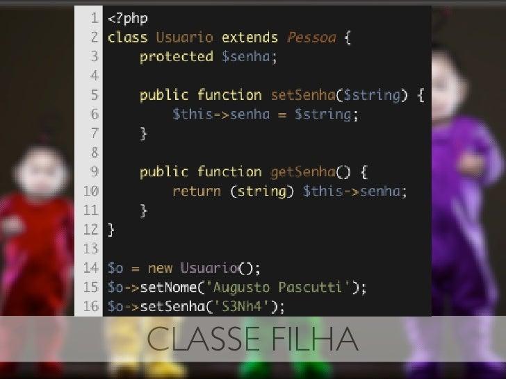 CLASSE FILHA