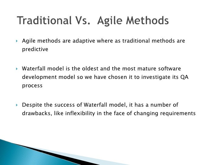 waterfall model research paper To address this research gap, we compare the problems in literature with the results of a case study at ericsson ab in sweden, investigating issues in the waterfall model the case study aims at validating or contradicting the beliefs of what the problems are in waterfall development through empirical research.