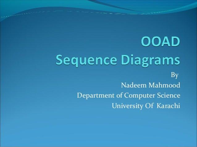 By            Nadeem MahmoodDepartment of Computer Science         University Of Karachi