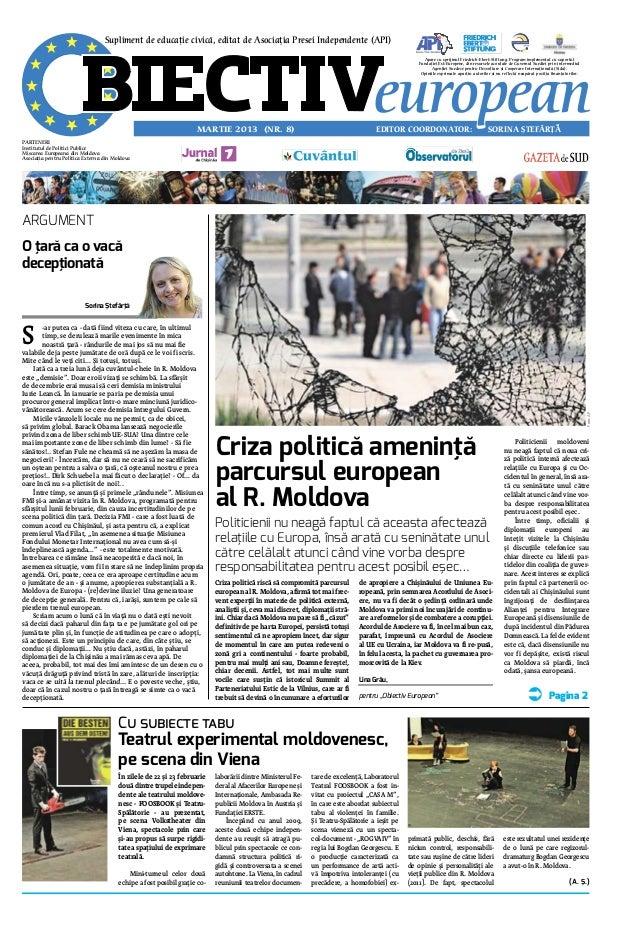 Supliment de educatie civica, editat de Asociatia Presei Independente (API)                                               ...