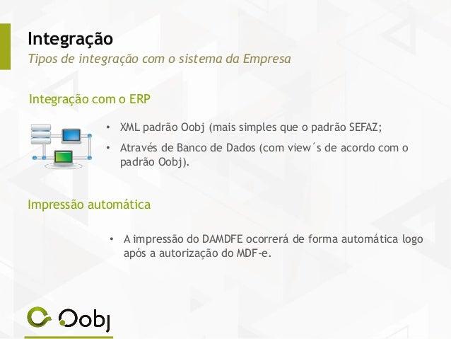 Modelo de DAMDFE – Formato Normal