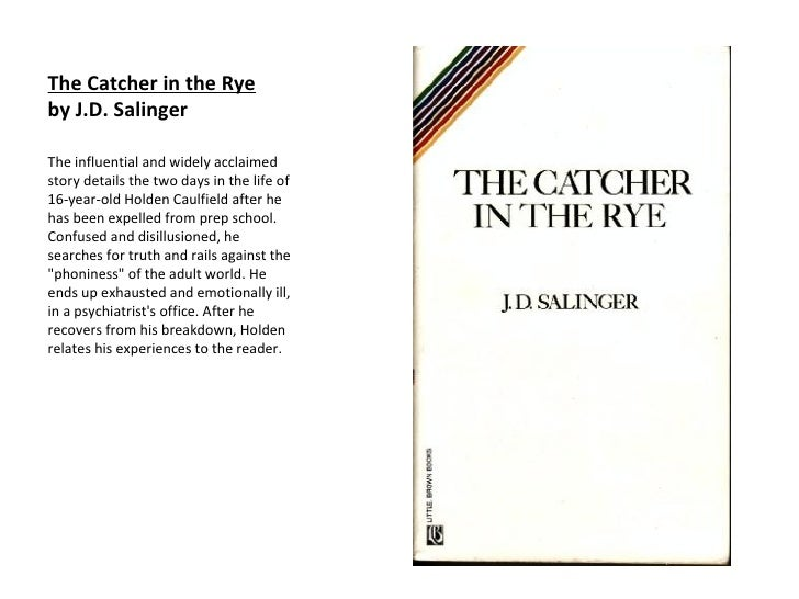 the accusations made against jd salingers novel the catcher in the rye The stand of the australian authorities abetting the us moves against the dprk is aggravating the situation on the peninsula and encouraging trump, a trigger-happy man, to start a war of aggression against the dprk, said the statement, adding.