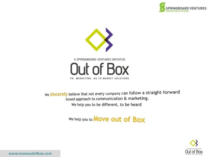 We sincerely believe that not every company can follow a straight-forward boxed approach to communication & marketing.<br ...