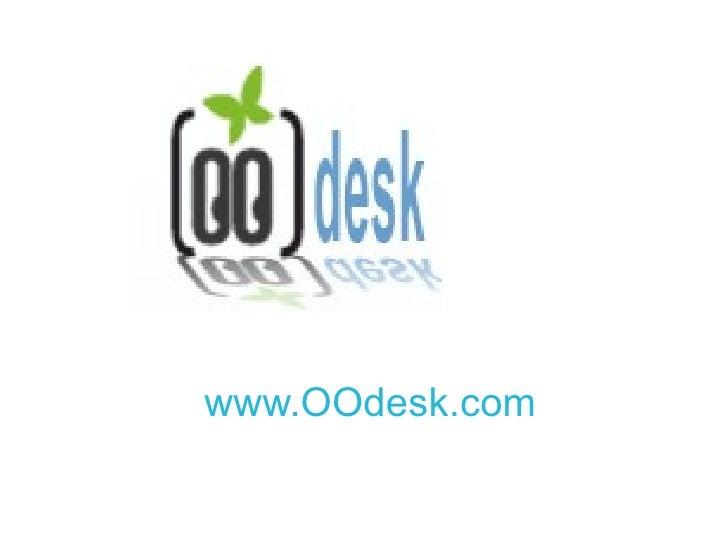 www.OOdesk.com