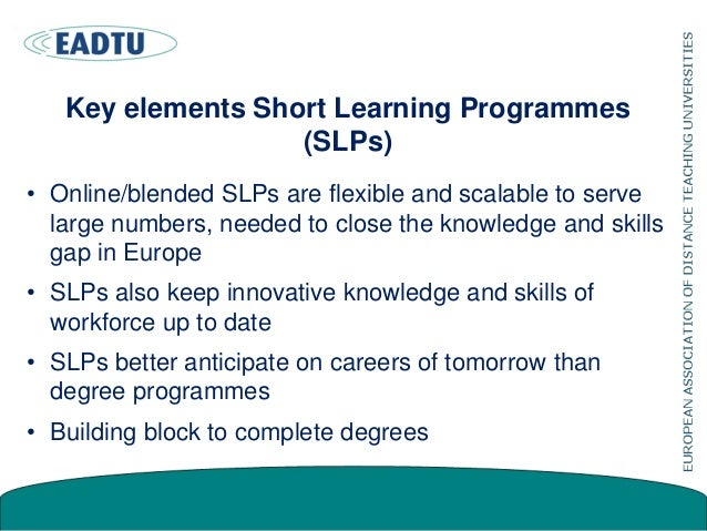 Three areas of provision emerging Degree education Continuous education / CPD Open education, MOOCs InternationalNational ...
