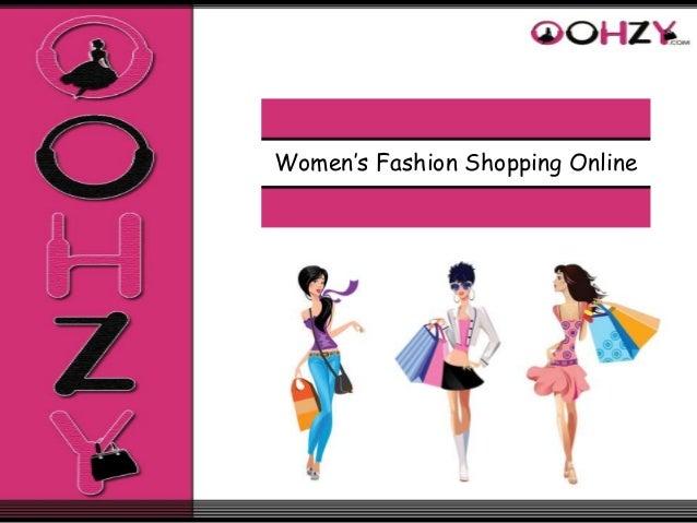 Women's Fashion Shopping Online